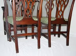 Chippendale Dining Room Set by Set Of Six English Chippendale Style Mahogany Antique Dining