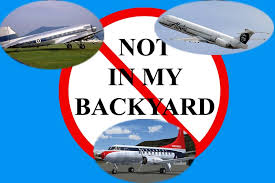 Not In My Backyard St Paul Airlines Keep The Dirty Side Down