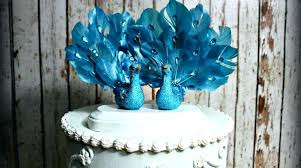 peacock wedding cake topper peacock wedding cake topper how to make a feather decorations
