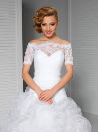 wedding dress with bolero white wedding lace top the shoulder bridal bolero jacket