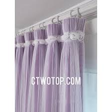 Purple Bedroom Curtains Bedroom Stylish Lace Curtains With Sheer And Lace