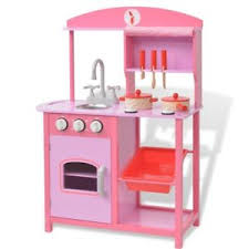 kinderk che holz rosa vidaxl spielzeugküche kinderküche holzküche spielküche holz 60 x