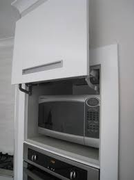 Kitchen Appliance Lift - lift up kitchen doors sleek convenience or a hassle apartment