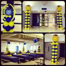 balloon arrangements for graduation foil graduation balloon column kit party ideas