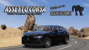 maserati levante wallpaper assetto corsa red pack maserati levante s black cat county
