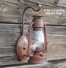 Wall Sconces Rustic Dx801 Rustic Lantern Wall Sconce Light Fixture