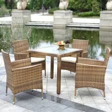 Wicker Dining Chairs Ikea Dining Chairs Dining Set For Outdoor Patio With Curved Chairs