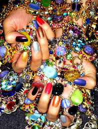 russian vogue nails did spread nails nailart jewelry