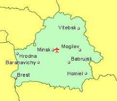 map of belarus belarus airports flights to belarus from the uk or ireland