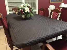 clear vinyl table protector brilliant clear vinyl elasticized round tablecloths within