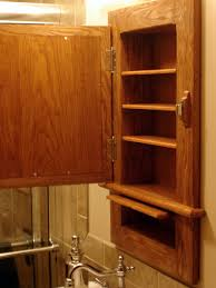 Secret Compartment Bookcase Craftsman Inspired Medicine Cabinet With Hidden Compartment By