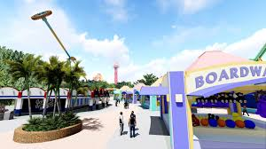 Six Flags Magic Mountain Opening Hours World U0027s Tallest Pendulum Ride Crazanity At Six Flags Magic