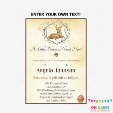 best deer baby shower invitations products on wanelo