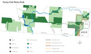 Green Circle Trail Map Park Map Metro Parks Central Ohio Park System