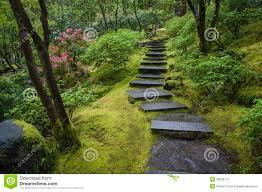 pierre pour jardin zen escalier en pierre dans un jardin image stock image 30228171