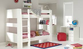 Solitaire Bunkbed - White bunk beds uk
