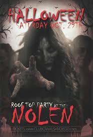 halloween rooftop party at the nolen tickets nolen rooftop