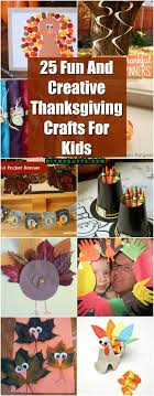 25 and creative thanksgiving crafts for diy crafts