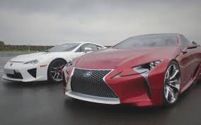 lexus lfa convertible video find beauty meets beast in lexus lfa lf lc concept teaser