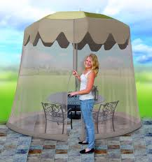 Offset Umbrella With Screen by Amazon Com Ideaworks Jb5677 Outdoor 7 5 Foot Umbrella Table