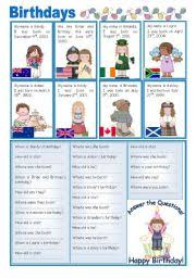 english teaching worksheets english speaking countries