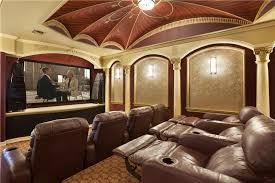 mediterranean home interior mediterranean home theater with carpet interior wallpaper in
