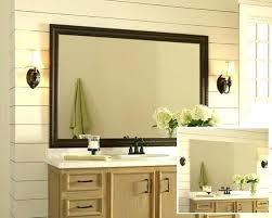 bathroom mirror ideas contemporary 36 by 48 bathroom mirror sillyroger regarding oak