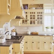 Light Yellow Kitchen Cabinets Kitchen Remodel Tour Yellow Kitchen Cabinets Bead Board