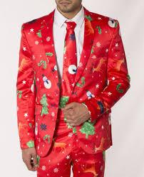 christmas suit mens slim fit fancy dress novelty christmas suit