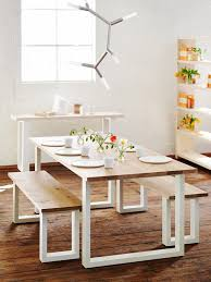 Marvelous Dining Room Tables With Bench Seats  In Old Dining - Dining room tables with a bench