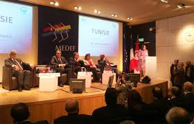 siege du medef mehdi jomâa à la réunion du medef les entrepreneurs français