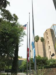 Colorado Flags At Half Mast Flags Flown At Half Staff For Anaheim Sailor Killed In Iraq
