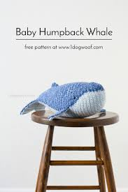 baby humpback whale crochet pattern one dog woof