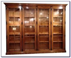 sauder heritage hill open bookcase classic cherry bookcases