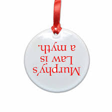 murphy u0027s law ceramic christmas ornament u2013 neurons not included