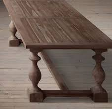 restoration hardware 17 c monastery table our table and chairs 17th c monastery rectangular dining tables