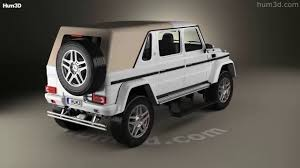 maybach landaulet mercedes benz g class w463 maybach landaulet 2017 3d model by