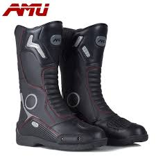 waterproof motocross boots 2016 new amu waterproof racing boots leather motorcycle motocross