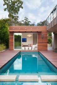 Swimming Pool House Plans Pinterest