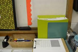 Teacher Desk Organization by E Myself And I Classroom Organization Tips