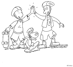 pinkalicious coloring pages free doug coloring pages coloring pages for kids