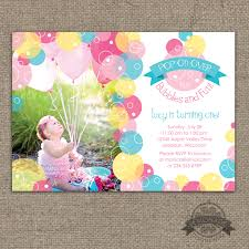 brunch party invitations invitation bubbles birthday party invite pop on
