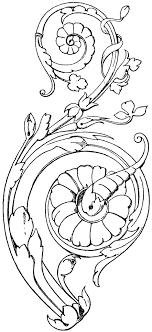modern ornament clipart etc