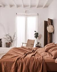White Bedroom Decorations - serene and peaceful rustic bedroom decor featuring linen sheets