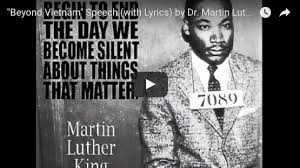 martin luther king i a testo a reflection on dr martin luther king jr s beyond a