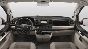 volkswagen inside volkswagen unveils new california cer van