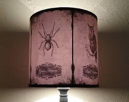 Bat Light Fixture Skull Lshade Etsy