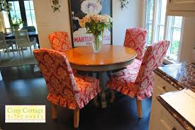 Orange Parsons Chair Cozy Cottage Slipcovers Pretty Parsons Chair Slipcovers