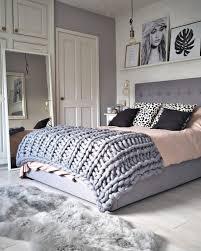 pink u0026 grey bedroom ideas