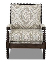 Arm Accent Chair Accent Chair With Wooden Arms With Additional Outdoor
